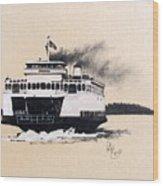 Issaquah Wood Print