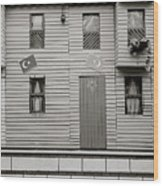 Istanbul House Wood Print