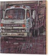 Isuzo Truck Wood Print