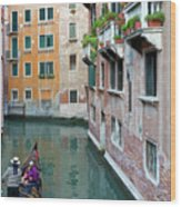 It Must Be Venice Wood Print