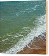 Italian Beach Wood Print