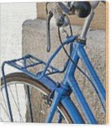 Italian Bike Wood Print