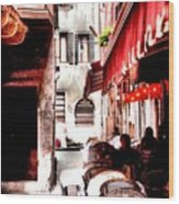 Italian Bistro - Venice Wood Print