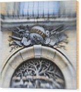 Italian Cherubs Wood Print