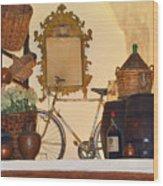 Italian Osteria Wood Print
