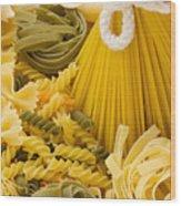 Italian Pasta Wood Print