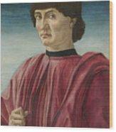 Italian Renaissance Portrait Painter Wood Print