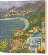 Italian View Wood Print