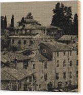 Italian Villas Wood Print