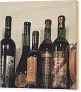 Italian Wine Wood Print