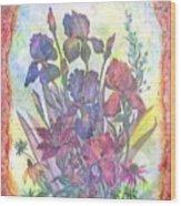 Itallian Garden Wood Print