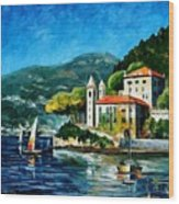 Italy - Lake Como - Villa Balbianello Wood Print