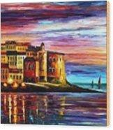 Italy - Liguria Wood Print