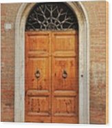 Italy - Door Fifteen Wood Print