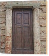 Italy - Door Nineteen Wood Print