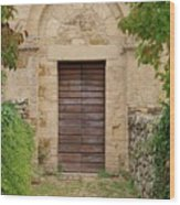 Italy - Door Twenty Five Wood Print