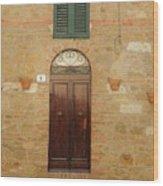 Italy - Door Twenty One Wood Print