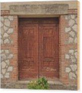 Italy Door - Twenty Six  Wood Print