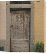 Italy - Door Twenty Three Wood Print