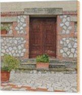 Italy - Door Twenty Two Wood Print