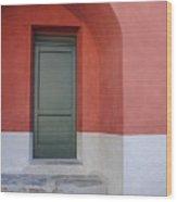 Italy - Door Two Wood Print