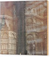 Italy, Florence, Duomo And Campanile Wood Print