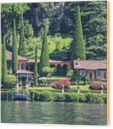 Italy Home Wood Print