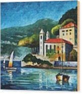 Italy  Lake Como  Villa Balbianello Wood Print