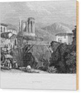 Italy: Tivoli, 1832 Wood Print