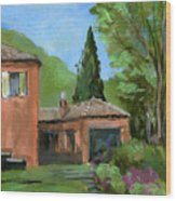Italy001 Somewhere In Sicily Wood Print