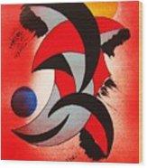 Ito-kina Doryoku Wood Print
