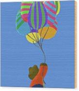 It's A Bird, It's A Plane, It's Easter Wood Print