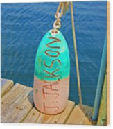 Its A Buoy Wood Print