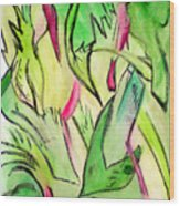 It's A Jungle Out There Wood Print
