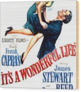 Its A Wonderful Life, Donna Reed, James Wood Print
