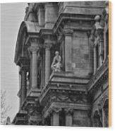 It's In The Details - Philadelphia City Hall Wood Print