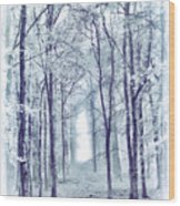 Its In The Trees Wood Print
