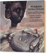 IV Carrera Panamericana Porsche Poster Wood Print