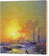 Ivan Constantinovich Aivazovsky  Wood Print