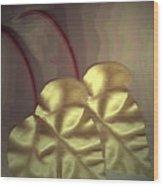 Ivy Heart Wood Print