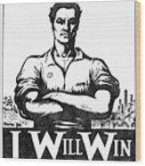Iww Poster, 1917 Wood Print