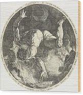 Ixion Wood Print