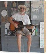 Ixnay Pollys Dock 9 Wood Print