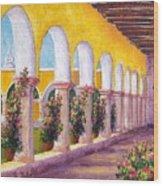 Izamal Arches Wood Print