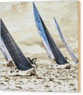 J Boats 2 Wood Print