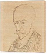 J.-k. Huysmans Wood Print