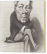 J. Marie Joseph Deville Wood Print