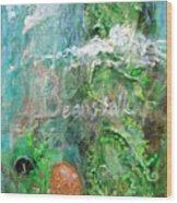 Jack And The Beanstalk Wood Print by Jennifer Kelly