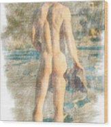Jack B. 3--2 Wood Print