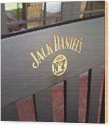 Jack Daniel's 3 Wood Print